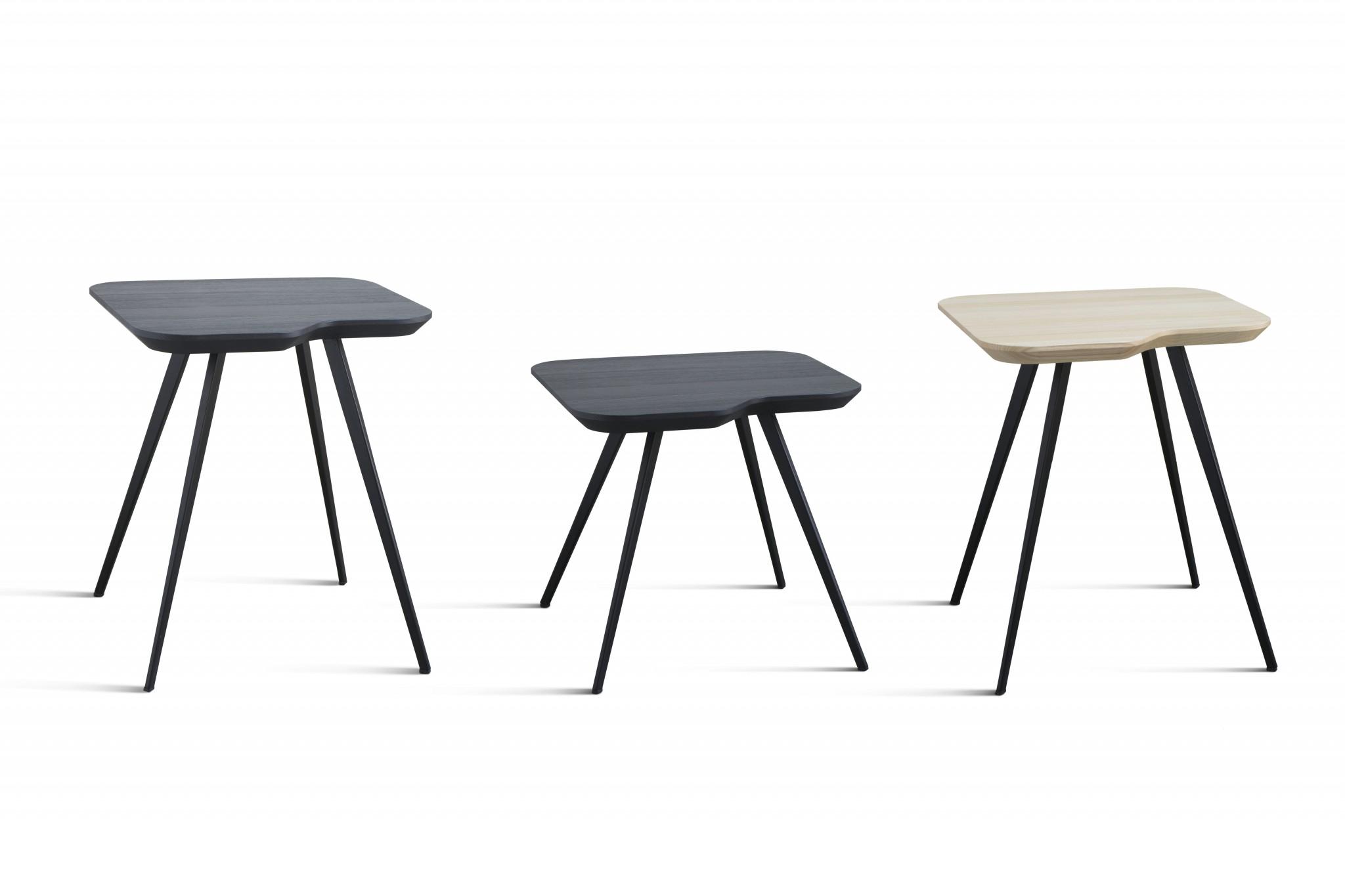 PARTICOLARE AKY SMALL TABLE MET(trio)