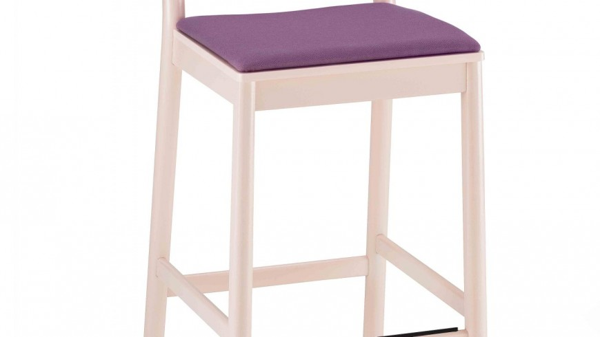 0027-IMB-H76-JULIE-stool-in-beech-painted-and-seat-padded,-stool-in-beech-painted-and-padded-seat-(2)