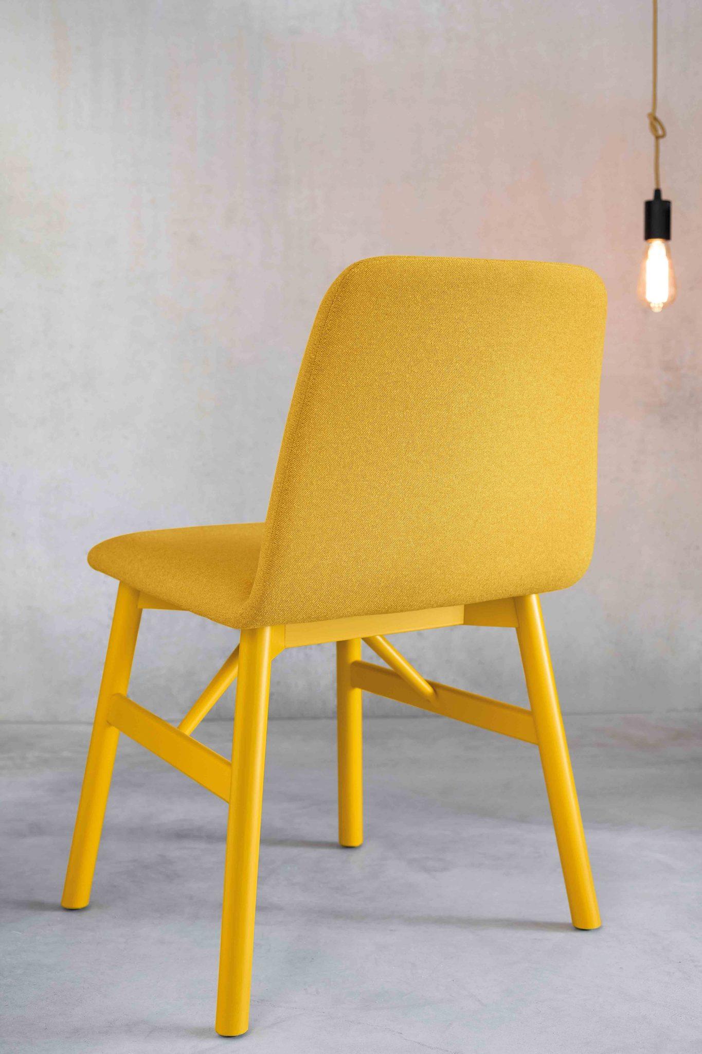 0030-LE-BARDOT-in-wood-painted-yellow - chair-Bardot-wood-base-and-yellow-padded