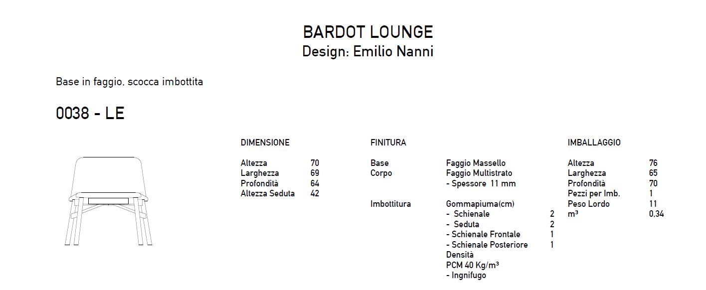 Bardot lounge it
